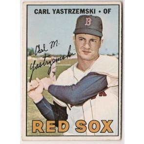 1967 Topps Carl Yastrzemski Single Condition Good