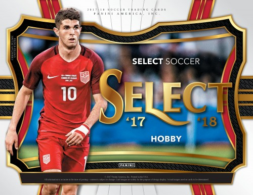 2017 Panini Select Soccer Hobby Box