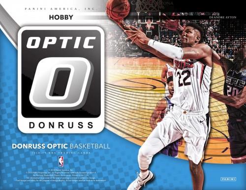 2018-19 Panini Donruss Optic Basketball Hobby Box