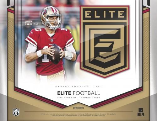 2018 Panini Elite Football Hobby Box