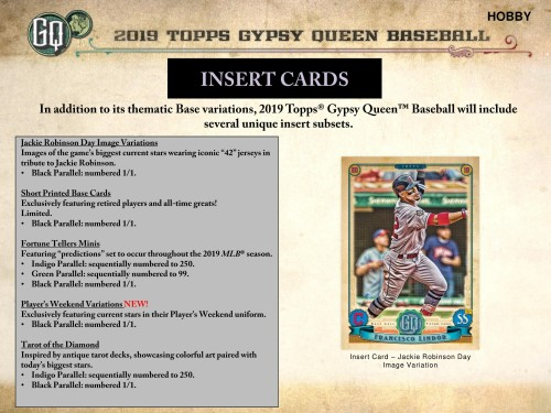2019 Topps Gypsy Queen Hobby Baseball Box Factory Sealed -  PREORDER