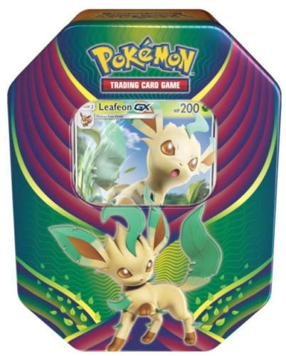 Pokemon TCG: Evolution Celebration Tin - Leafeon GX Factory Sealed