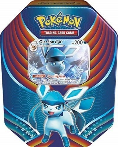 Pokemon TCG: Fall 2018 Evolution Celebration Glaceon GX Tin