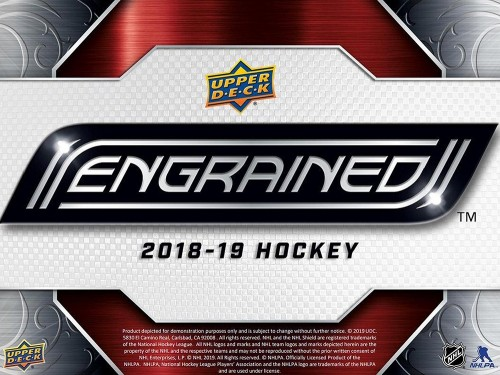 2018-19 Upper Deck Engrained Hockey Box factory Sealed - PREORDER AVAILABLE IN STORE ONLY