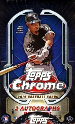 2014 Topps Chrome Hobby Baseball