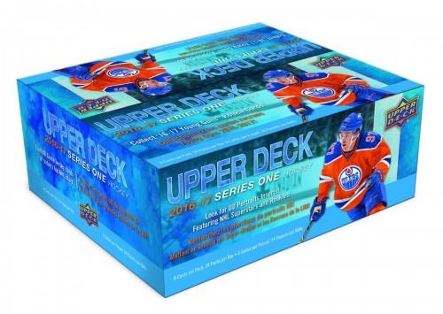2016-17 Upper Deck Hockey Retail Box