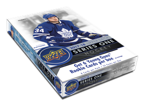 2017-18 Upper Deck Series 1 Hobby Box - IN STORE ONLY