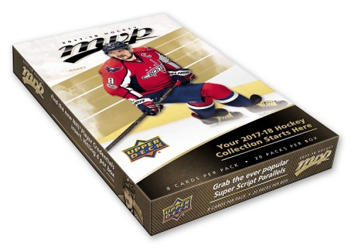 2017-18 Upper Deck MVP hockey cards Hobby Box of 20 Packs