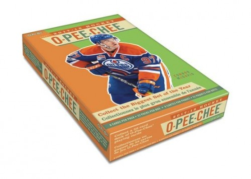 2017-18 OPC Hockey Hobby Box Factory Sealed