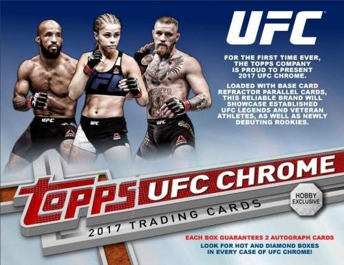 2017 Topps Chrome UFC Hobby Box