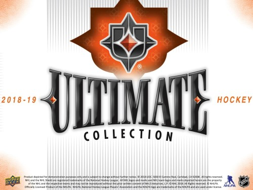 2018-19 UD Ultimate Hobby Box - PREORDER AVAILABLE IN STORE ONLY
