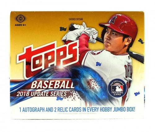 2018 Topps Update Series Baseball Hobby Jumbo HTA Box - IN STOCK