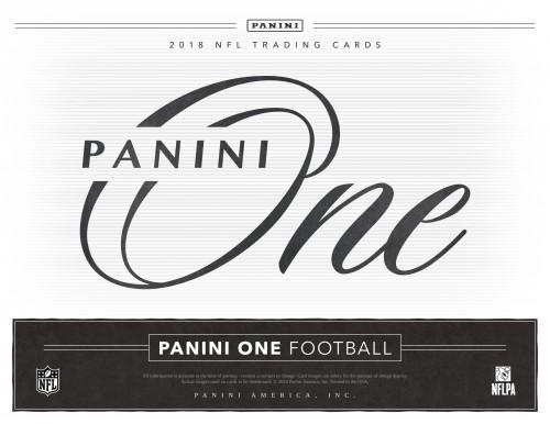 2018 Panini One Football Hobby Box