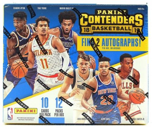 2018-19 Panini Contenders Hobby Basketball Box Factory Sealed