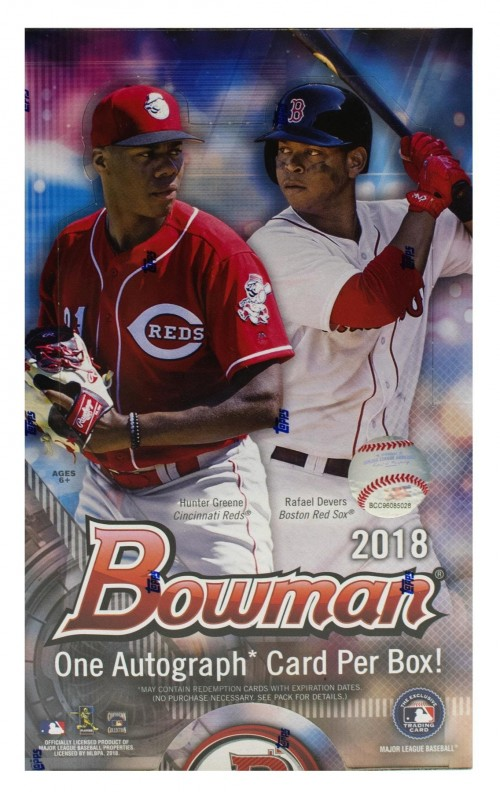 2018 Bowman Baseball Factory Sealed Hobby Box