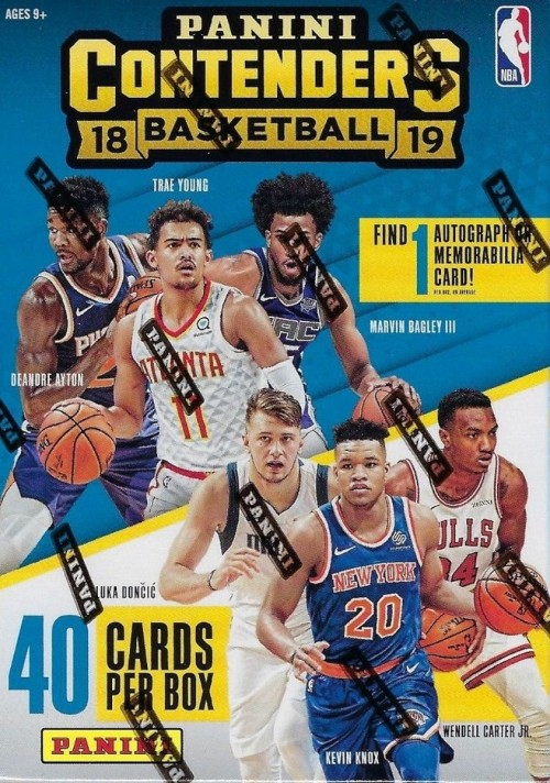 2018-19 Panini Contenders Blaster Basketball Box Factory Sealed