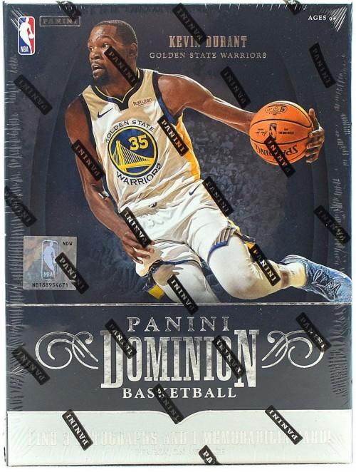 2018-19 Panini Dominion Basketball Hobby Box Factory Sealed