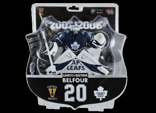 """2017 PSA NHL ED BELFOUR Toronto Maple Leafs Vintage Limited Edition 6"""" Hockey Figure /950"""