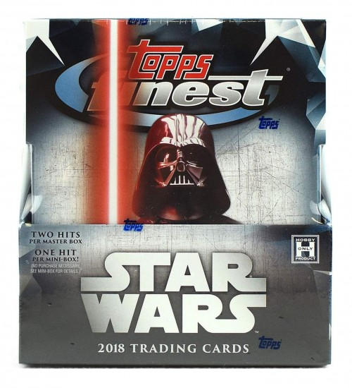 2018 Topps Finest Star Wars Factor Sealed Box