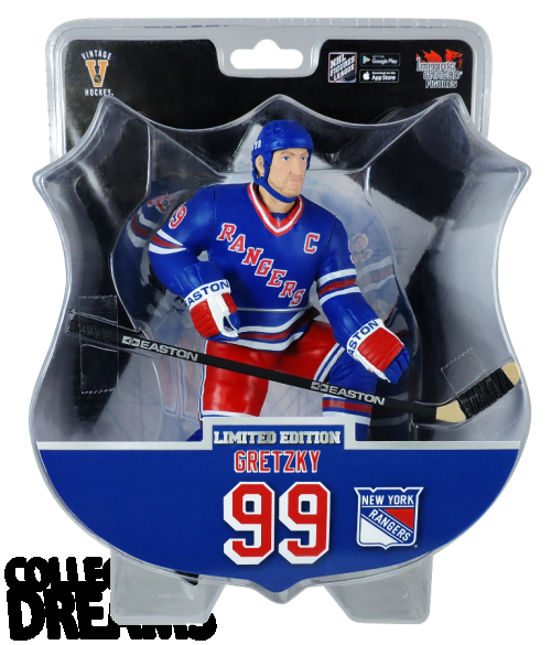 "2017 PSA NHL WAYNE GRETZKY New York Rangers Alumni 6"" Hockey Figure 4850 PRODUCED"