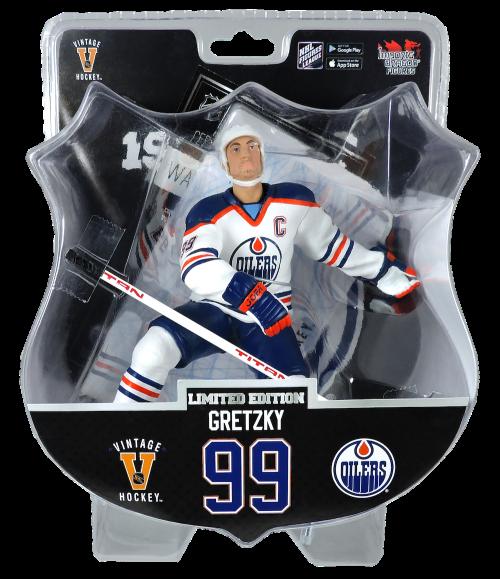 "2017 PSA NHL WAYNE GRETZKY Edmonton Oilers VINTAGE 6"" Hockey Figure Only 950 produced"