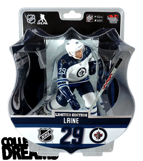 "2017 PSA NHL PATRIK LAINE 6"" Hockey Figure IN STOCK ROOKIE JETS 3500 Produced"