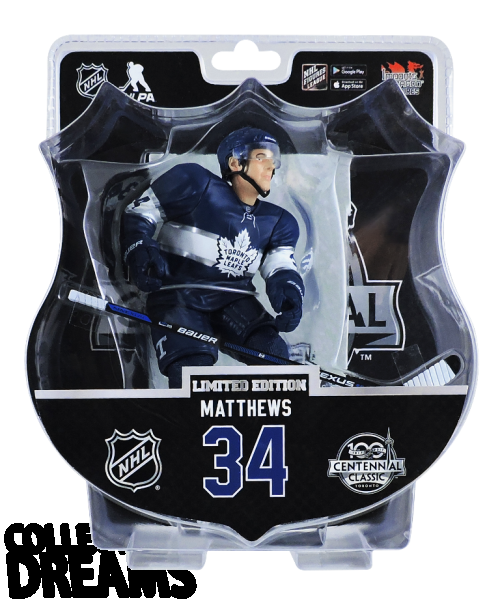 "2017-18 PSA NHL AUSTON MATTHEWS CENTENNIAL CLASSIC 6"" Hockey Figure Only 1850 Produced RARE"