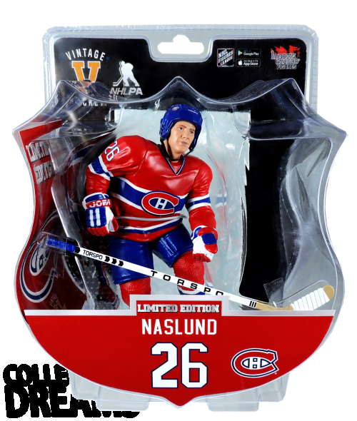 "2017 PSA NHL MATS NASLUND Montreal Alumni 6"" Hockey Figure 3500 produced"