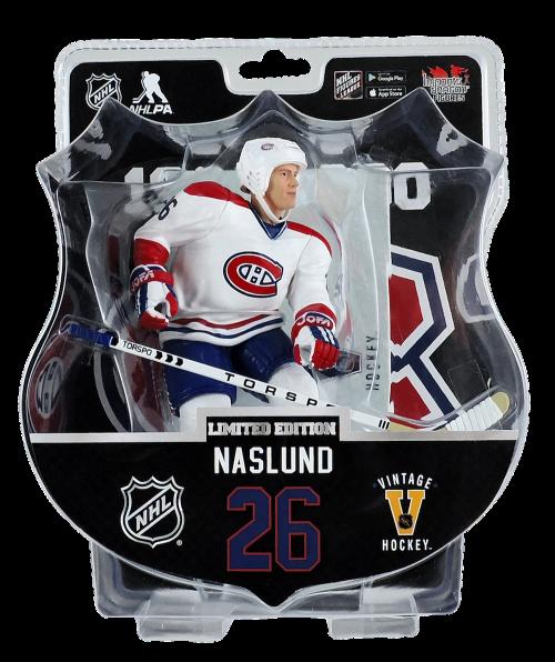 "2017-18 PSA NHL MATS NASLUND VINTAGE 6"" Hockey Figure Only 950 Produced RARE"