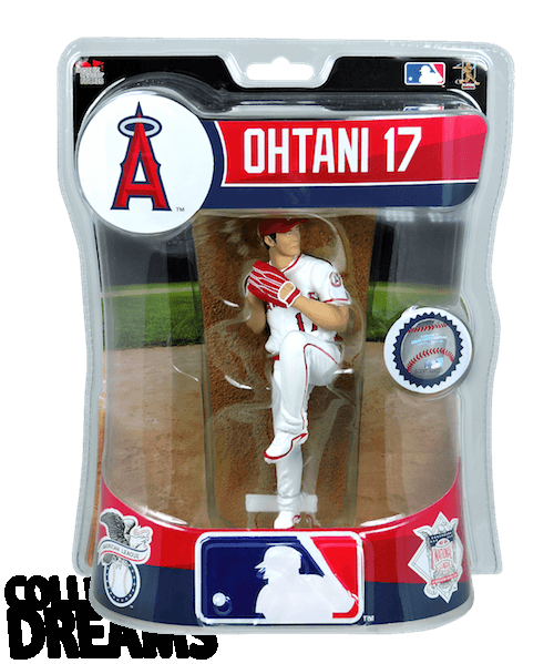 "2018 Shohei Ohtani - PITCHER - Import Dragons Rookie 6"" Figure MLB LIMITED EDITION"