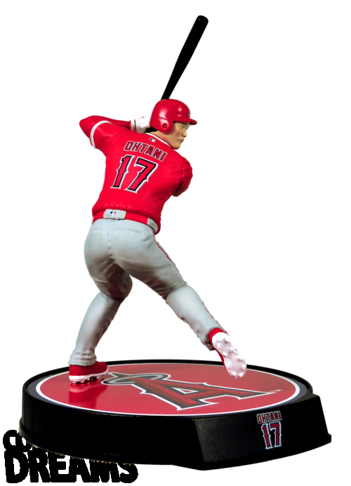 """2018 Shohei Ohtani - HITTER - Import Dragons Rookie 6"""" Figure MLB LIMITED EDITION - PRESELL California Angels"""