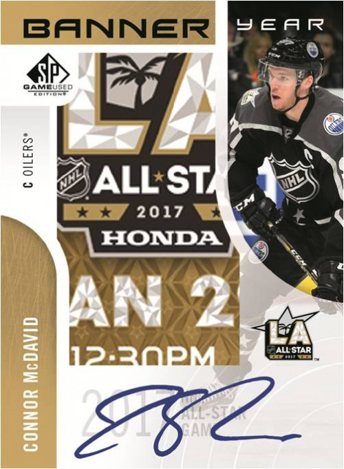 2017-18 Upper Deck SP Game Used Hobby Box - IN STORE ONLY