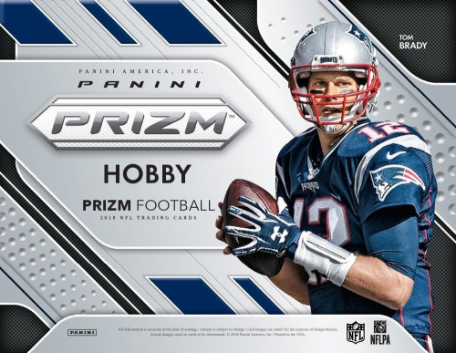 2018 Panini Prizm Football Factory Sealed Hobby Box 3 AUTOS PER BOX