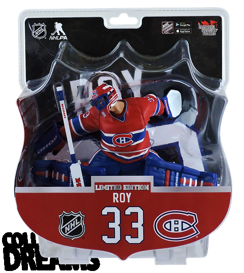 "2017 PSA NHL PATRICK ROY Montreal Alumni 6"" Hockey Figure"