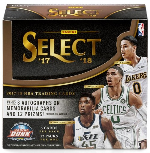 2017-18 PANINI SELECT BASKETBALL BOX