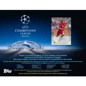2016 Topps UEFA Champions League Showcase Soccer