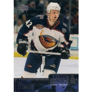 2003-04 Upper Deck Karl Stewart Young Guns