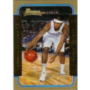 2003-04 Bowman Carmelo Anthony Rookie Gold