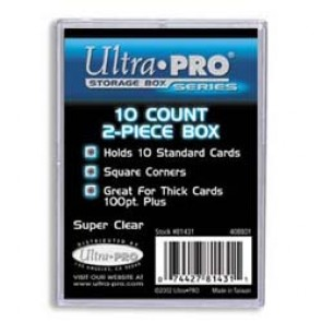 Ultra Pro 10 Count 2 Piece Box (10 Lot)