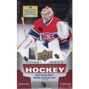 2013-14 Upper Deck Series 1 Hobby Box