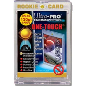 "Ultra Pro 3""x5"" Magnetic 1 Touch Rookie 130 pt (5 Lot)"