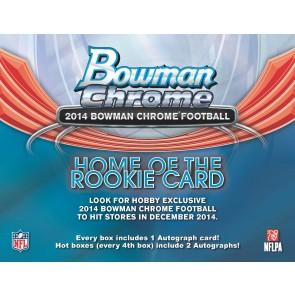 2014 Bowman Chrome Football Hobby Box