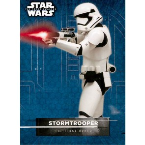 2016 Star Wars The Force Awakens Series 2 Character Stickers #16 Stormtrooper