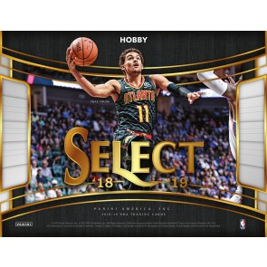 2018-19 Panini Select Basketball Hobby Box - PREORDER