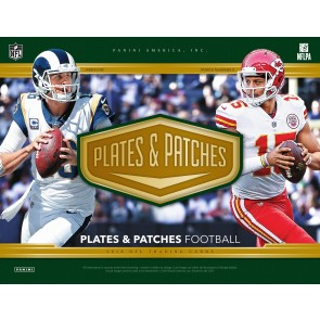 2018 Panini Plates & Patches Football Hobby Box -  PREORDER