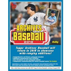 2018 Topps Archives Baseball Hobby Box - Presell