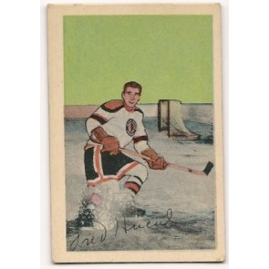 1952-53 Parkhurst  Freddy Hucul Single