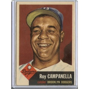 1953 Topps Roy Campanella Single