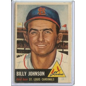 1953 Topps Billy Johnson Single