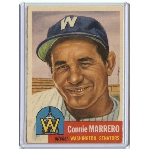 1953 Topps Connie Marrero Single